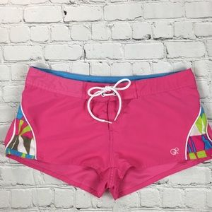 OP Pink Low Rise Board Shorts sz M (Juniors 7-9)
